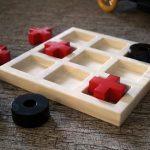 jeux de société de mémoire en bois